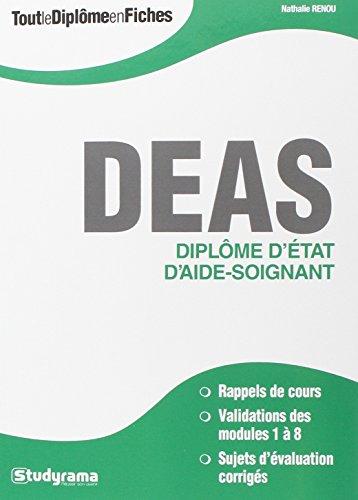 Diplôme d'Etat d'aide-soignant DEAS par Nathalie Renou