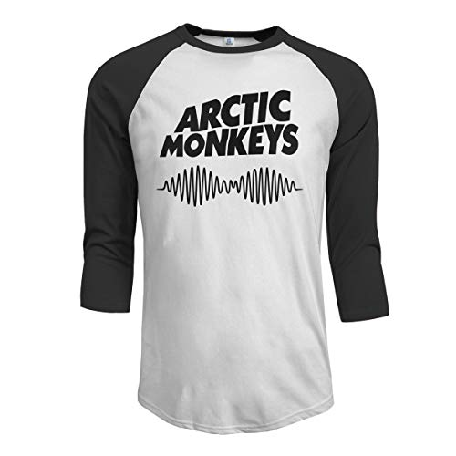 Charity Packer Arctic-Monkeys - Camisa de Verano Informal para Hombre de Manga Mediana