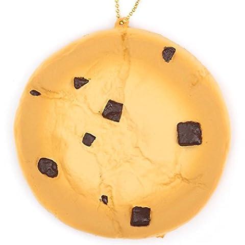 Cute chocolate chip cookie squishy charm kawaii Cafe de