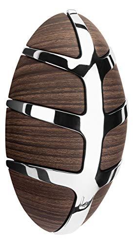 Spinder Design Bug Garderobe mit Metallhaken - 15x9x4.5 cm - 7 Haken - Dunkelbraun