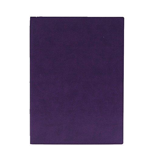 WWDDVHPY Notebook Aziendale/Taccuino Per Ufficio/Diario Per Studenti, Violet