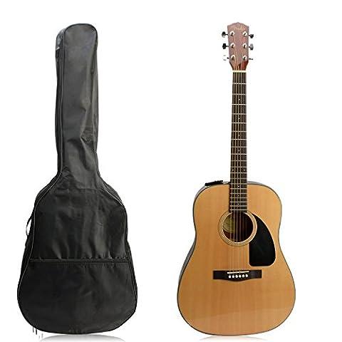 Guitar Bag,41 Inch Waterproof Nylon Acoustic Guitar Gig Bag Soft