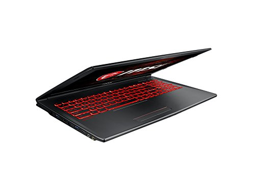 MSI GV62 7RD 1626DE 396 cm 156 Zoll Gaming Notebook Intel heart i7 7700HQ 8GB RAM 256 GB SSD 1 TB HDD Nvidia GeForce GTX 1050 Windows 10 home schwarz Notebooks