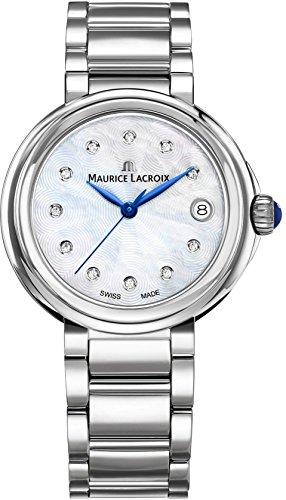 Maurice Lacroix Fiaba Round FA1007-SS002-170-1 Damenarmbanduhr Swiss Made