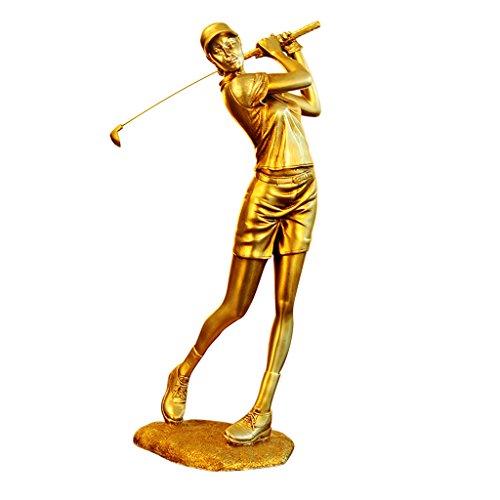 XINKONG Ornements De Caractère De Golfeur Européen Statue (Color : Male)