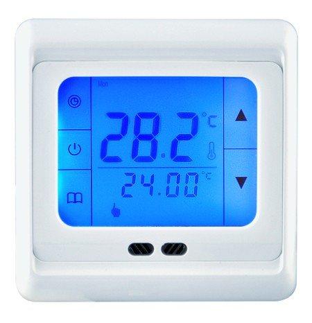 Blau Touch-screen-thermostate (Touch-Screen Thermostat HT07 Blue für elektrische Fußbodenheizung mit TWIN-Technologie)