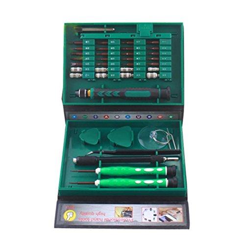 Preisvergleich Produktbild SWITCHALI HRC58-61 Präzisions Schraubendreher & Bit Set (38teilig), Telefon / Computer / Magic Repair Werkzeuge Kit