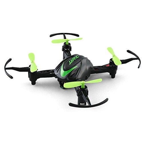 WINWINTOM 2018 Mini JJRC H48 Mini Drone 6 Axis 2.4G RC Micro Quadcopters Aviones Control Remoto para Niños (Verde)