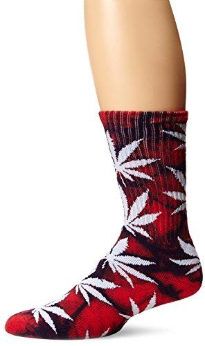 HUF Herren Socken Tie Dye Plantlife Crew Socks