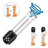 Penispumpen Elektrische Vakuumpumpen Sexspielzeug Männliches Trainingsgerät Masturbatoren für Männer Erektion Stimulation Trainer mit 6 Saugstufen