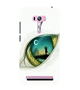 printtech Eye Girl look View Back Case Cover for Asus Zenfone 6::Asus Zenfone 6 A600CG