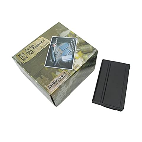 King Arms M14 Magazine Box Set 5 Black Poly Airsoft 6mm