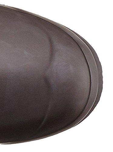 Botas Mulheres De Senhoras Org De Caçadores Alto Borracha Chocolate vgxxqf7Sw