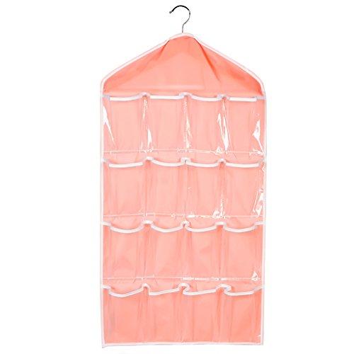Vococal® Portable Clear cosmétique Bra Hanging sac Accueil voyage étui cosmétiques maquillage sacoche pochette