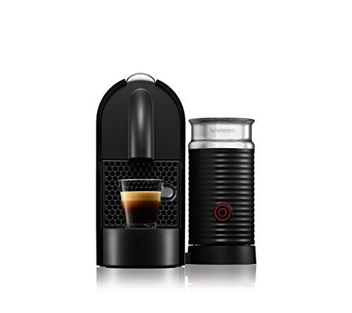 Nespresso U Milk con Aeroccino EN210.BAE Macchina per caffè espresso di De'Longhi, colore Nero (Pure Black) - 3