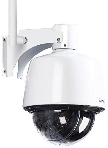 7links PTZ-Aussenkamera: Dome-IP-Kamera IPC-400.HD für Outdoor, IR-Nachtsicht, 720p, IP66 (Nachtsicht-Überwachungskamera)