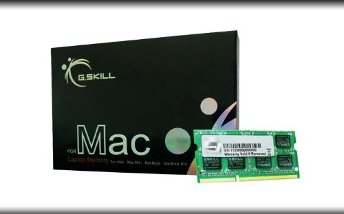 G.SKILL 8GB X 1 DDR3 1333MHZ CL9 VALUE RAM FOR LAPTOP (FOR APPLE MAC)