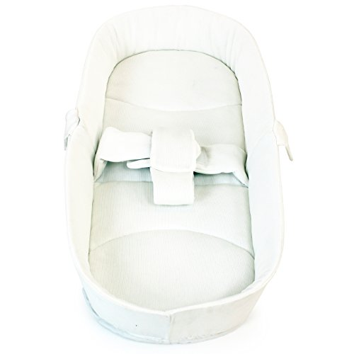 iSafe Luxury Bedding (Cream) For Pram Travel System