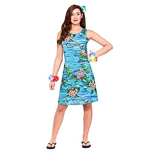 Dress Hawaiian Luau Fancy Dress Up BBQ Party Costume Outfit (Luau Party Kostüme Idee)