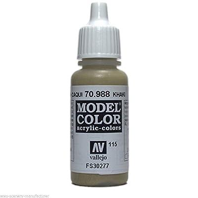 WWG Vallejo Acrylic Paint Model Color Khaki 70.988 - Wargame Miniature
