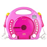 X4-TECH Bobby Joey MP3 Kinder CD-Player/pink