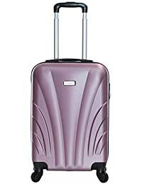 Slimbridge Ferro Super Lightweight ABS Hard Shell Travel Cabin Carry On Hand Luggage Suitcase with 4 Wheels, Approved for Ryanair, EasyJet, British Airways, Virgin Atlantic, Flybe and More