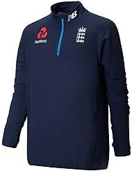 New Balance Inglaterra Cricket formación 1/4cremallera parte superior, Azul