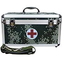 Medizinschränke Medizin-Box Haushalt Notfall Aluminium-Legierung Brust Multilayer-Sicherheitsschloss Erste-Hilfe-Kit... preisvergleich bei billige-tabletten.eu