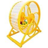 Jogging pour animal domestique Hamster souris Petit Animal Course Spinner Sports de roue d'exercice jouet Couleur aléatoire