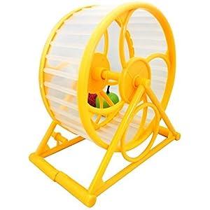 Pet Joggen Hamster Maus Mäuse Kleintiere Running Spinner Sport Rad Training Spielzeug zufällige Farbe