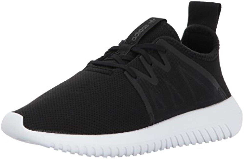 adidas originaux femmes viral2 tubulaire w noir basket, noir / noir w / blanc, 7,5 moyen nous d0f239