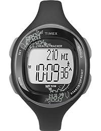 Timex T5K486F7 - Reloj para mujeres, correa de resina color negro