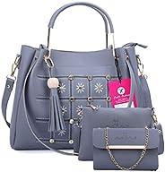 Fiesto Fashion Women's Handbag (Set of 3) (FIESTO33_B