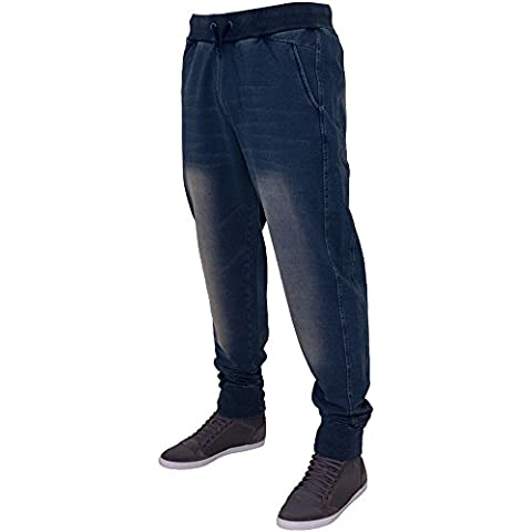 Urban Classics TB483 Denim Sweatpant Jeans uomo ORIGINAL S