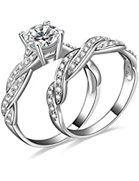 "Young & Forever Valentine Gifts Special ""Verona Collection"" The Ultimate In Bling Sterling Silver Wedding Diaries..."