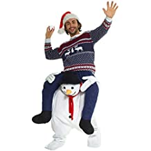Morphsuits Novelty Piggy Back Funny Fancy Dress Piggyback Costume Unisex - with Stuff Your Own Legs