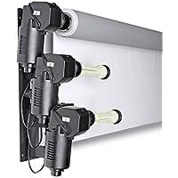 Bresser MB-3Y Soporte de pared eléctrico para 3 Fondos de estudio