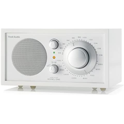 Tivoli Model One - Radio (AM, FM), color blanco (importado)