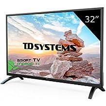 "TD Systems K32DLM8HS - Smart TV 32""(Full HD Smart, Resolución 1366 x 768, 3X HDMI, VGA, 2X USB, Smart TV)"