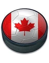 Ice Hockey Puck Football Soccer Football Country Drapeau A-i