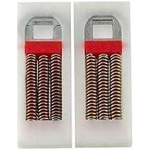 HomeSecure - Juego de muelles de recambio para puertas de PVC (2 unidades)