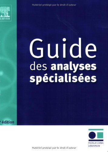 Guide des analyses spécialisées: POD