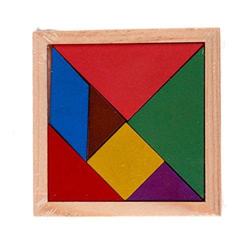 Tangram Brain Teaser Puzzle Pädagogische fuer Kinder Spielzeug (Brain Teaser Für Kinder)
