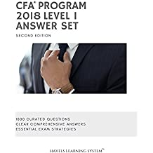 2018 CFA Level 1 Answer Set - Volume 2: Applicable for June and December 2018 Exams (2018 CFA Essential Exam Material )