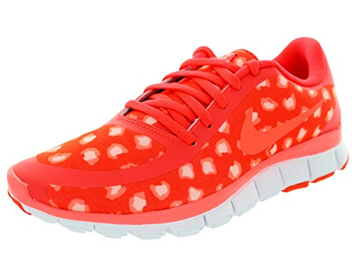 Nike W Nk Free 5.0 V4 Ns Pt, Scarpe sportive, Donna Bright Citron/Ht Lava/Snst Glw