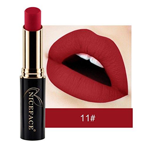 Rouge à Lèvres Sonnena 2018 Nouvelle Lip Lingerie Matte Liquide Rouge À Lèvres Lip Gloss Imperméable À L'eau Maquillage Shades Cosmétiques 24 Teintes (Standard, K)