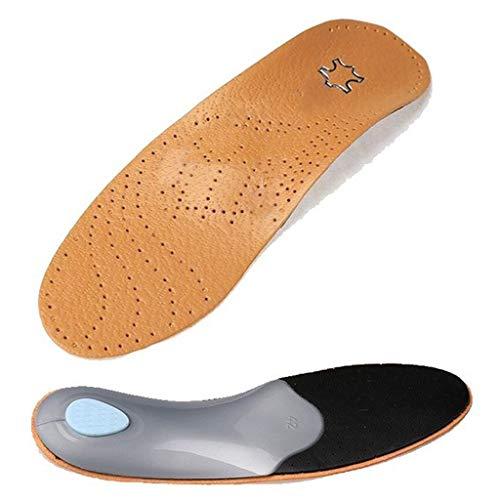 BouT Einlegesohlen für Damen, Herren, Unisex, Kunstleder, Flacher Fußgewölbe, 2,8-3 cm, orthopädisches Polster zur Korrektur von OX-Beinen, ()