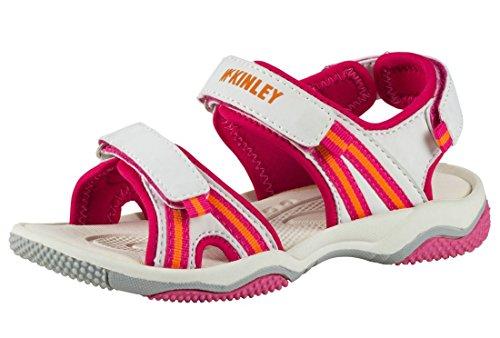 Mckinley Trek-Sandale Reece II Jr. - WHITE/PINK/ORANGE White