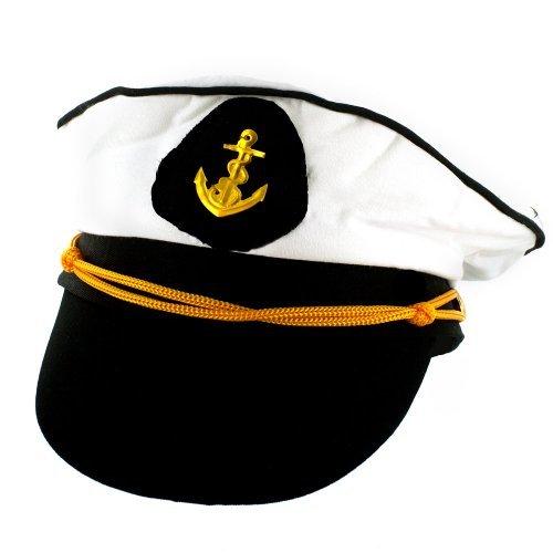 1 x Marine Seemann Captain Hut Kostüm