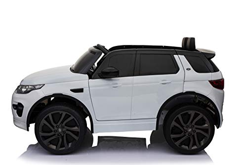 RC Auto kaufen Kinderauto Bild 4: Original Land Rover Discovery Sport Kinderauto Kinderfahrzeug Elektroauto (Weiss)*